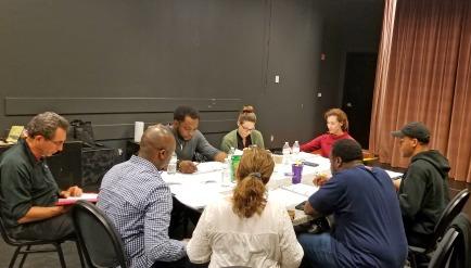 Atlanta Artists Reiser Lab rehearsal