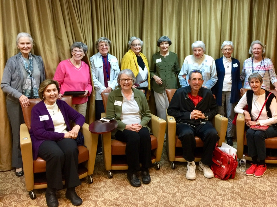 Reading of Divided Among Themselves at the Park Springs Retirement Community in Stone Mountain, Georgia. A wonderful way/day to hear my play read. A lovely and generous group of women.